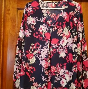 Cato Floral Blouse